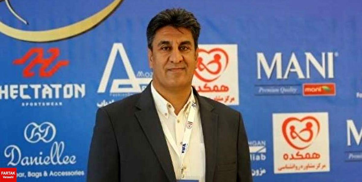 افشاریان: در خوشبینانهترین حالت VAR اواخر فصل آینده به ایران میرسد