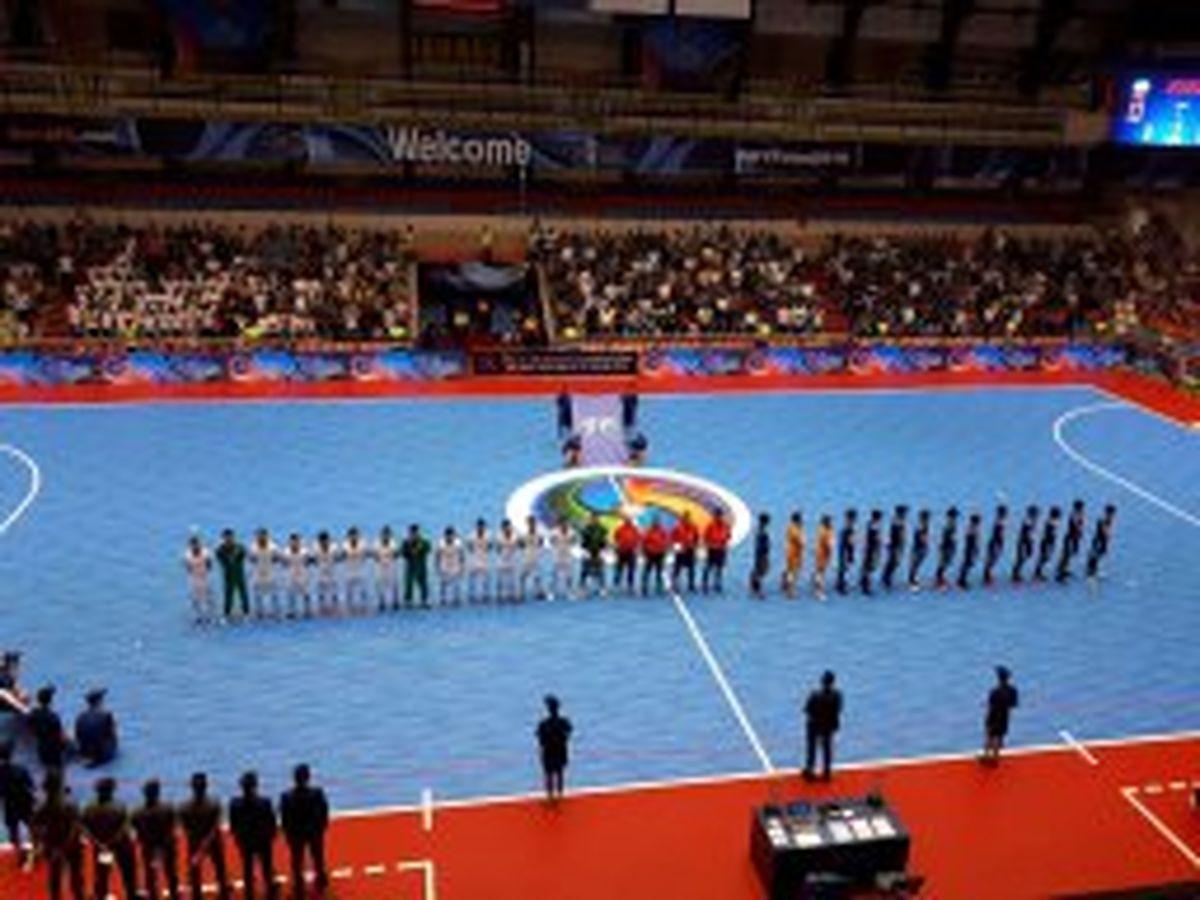 ژاپن نیمه نهایی فوتسال را هم از ایران برد