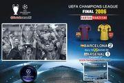 دومین قهرمانی آبی و اناری ها در لیگ قهرمانان اروپا