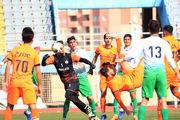 گزارش تصویری از بازی بادران و آلومینیوم اراک از قاب دوربین مهدی افشاری
