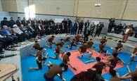 افتتاح زروخانه امام حسن مجتبی (ع) در کرمانشاه با حضور وزیر ورزش