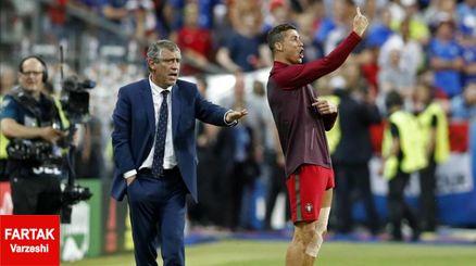 مورینیو : رونالدو نقشی در قهرمانی پرتغال نداشت