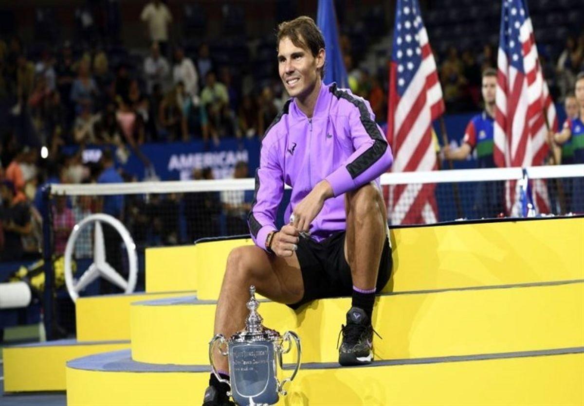 نادال هم انصراف داد /  رقابتهای تنیس اوپن آمریکا کم رنگتر شد