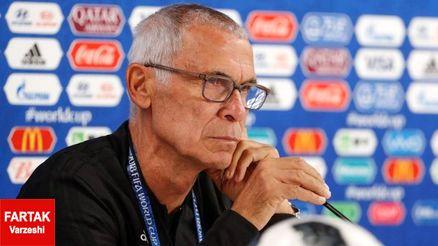 کوپر: فوتبال خوب و راضی کنندهای مقابل ایران ارائه دادیم