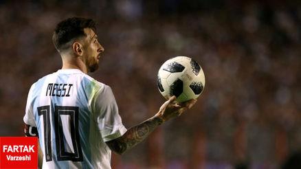 شانس آرژانتین در جام جهانی از نظر مسی
