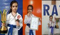 فیلم/ آینده درخشان«ایلا گل عنبر» در ورزش کاراته