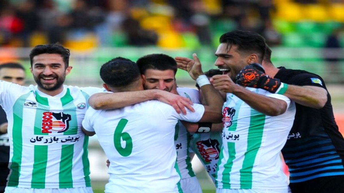 لیگ برتر فوتبال / پیروزی شاگردان افاضلی پس از ۵ هفته