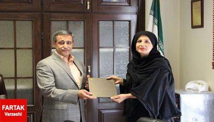 فیروزه زمانی مسوول کمیته آموزش گلف تهران بزرگ شد