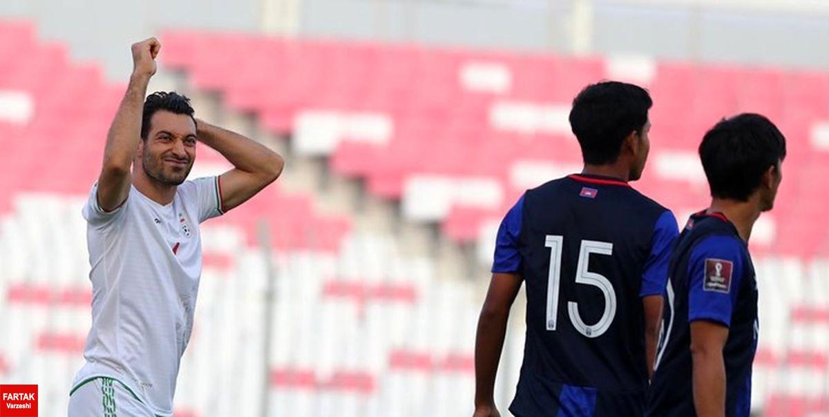 حاشیه بازی امارات و ایران| بازگشت مدافع اخراجی تیم ملی به میدان/ معجزه VAR