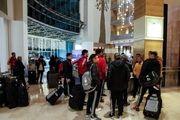 قرمزپوشان تبریزی وارد ترکیه شدند