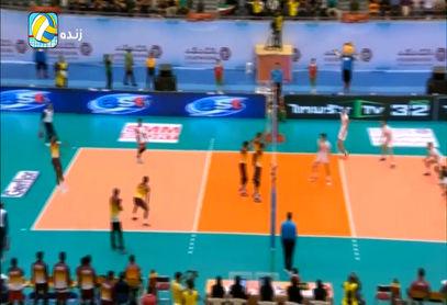 خلاصه والیبال ایران 3 - 0 سریلانکا (قهرمانی آسیا) + فیلم