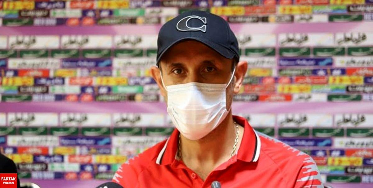 گلمحمدی: هنوز وضعیت بازیکنان مصدوم ما مشخص نیست/ تنها خواسته ما این است که اجازه دهیم تیم داوری در آرامش کارش را کند
