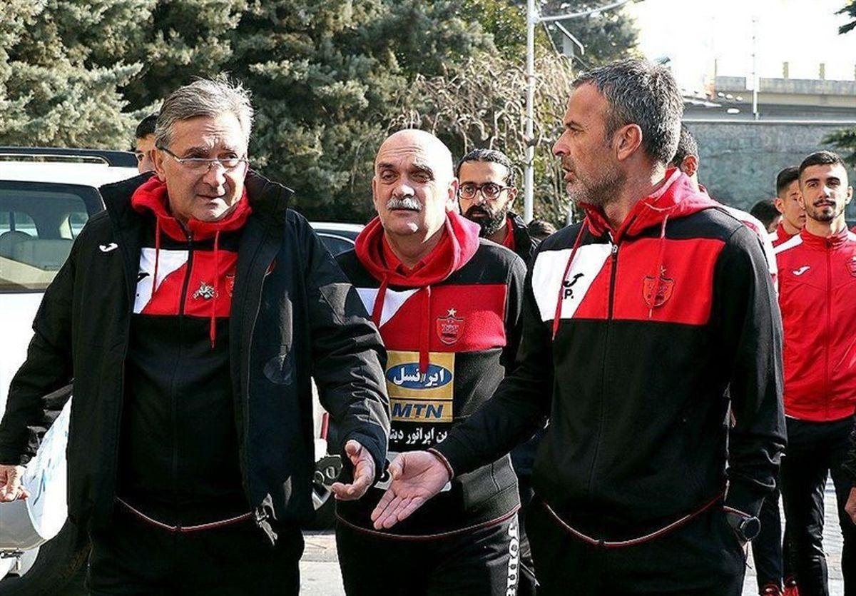 باشگاه پرسپولیس مطالبات ۲ دستیار برانکو را پرداخت کرد