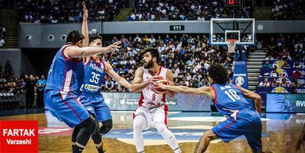 سلام بسکتبال ایران به جامجهانی با غلبه بر فیلیپین