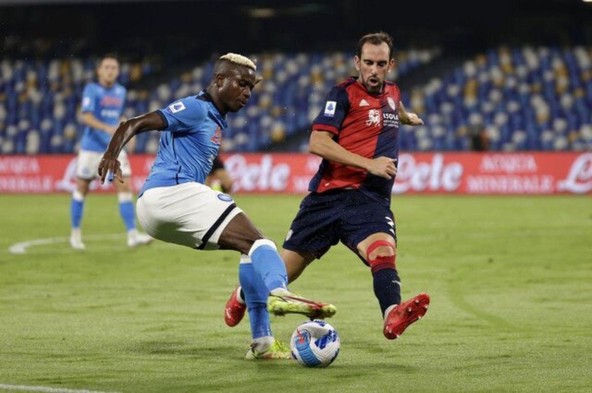 ششمین برد ناپولی در لیگ فوتبال ایتالیا