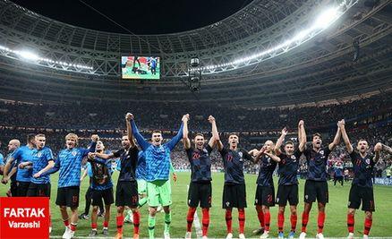 هزینه هنگفتی که کروات ها برای حضور در بازی فینال پرداخت کردند