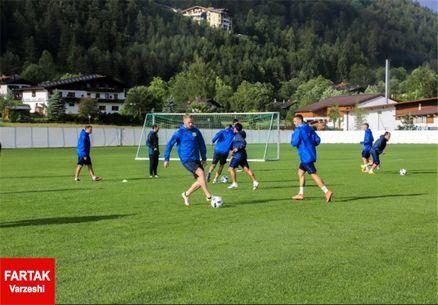 دومین اردوی آمادهسازی تیم عزتاللهی در اتریش و برگزاری ۴ بازی تدارکاتی