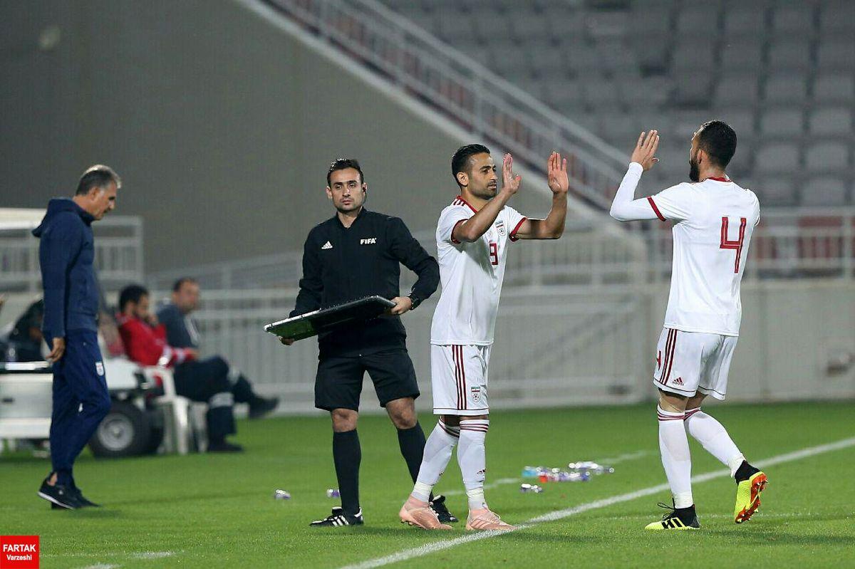 ابراهیمی و چشمی مقابل هم در کاپ قطر+عکس