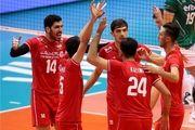 پایان ست نخست|پیروزی بلند قامتان ایرانی مقابل بلغارستان