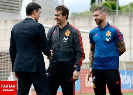 دو دستگی در اردوی اسپانیا؛ راموس در مقابل دیگر بازیکنان