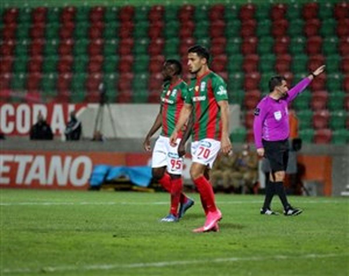 علیپور:وضعیت من در تیم ماریتیمو در حال بهتر شدن است