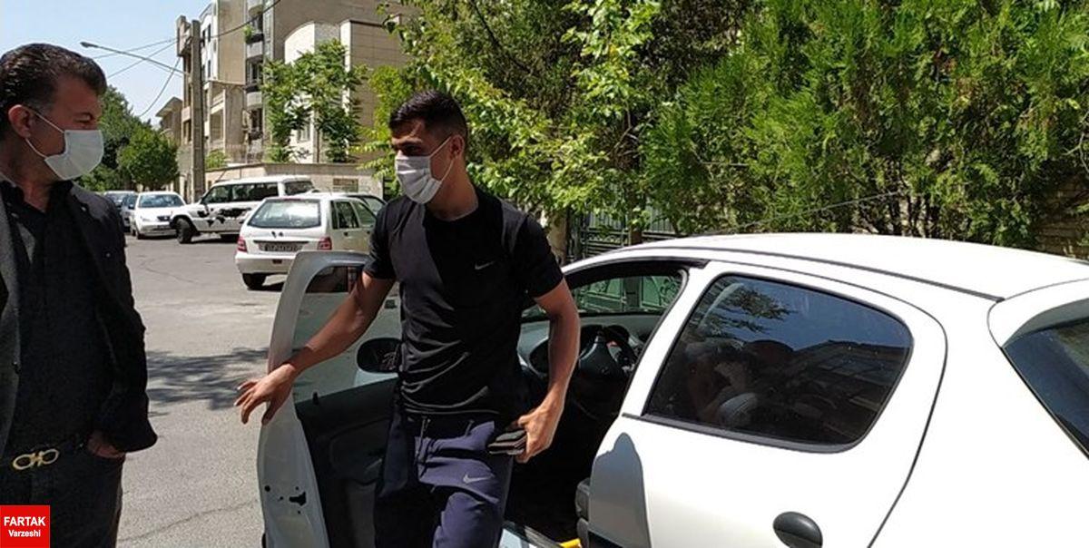 حضور علی نعمتی در باشگاه پرسپولیس برای چهارمین بار