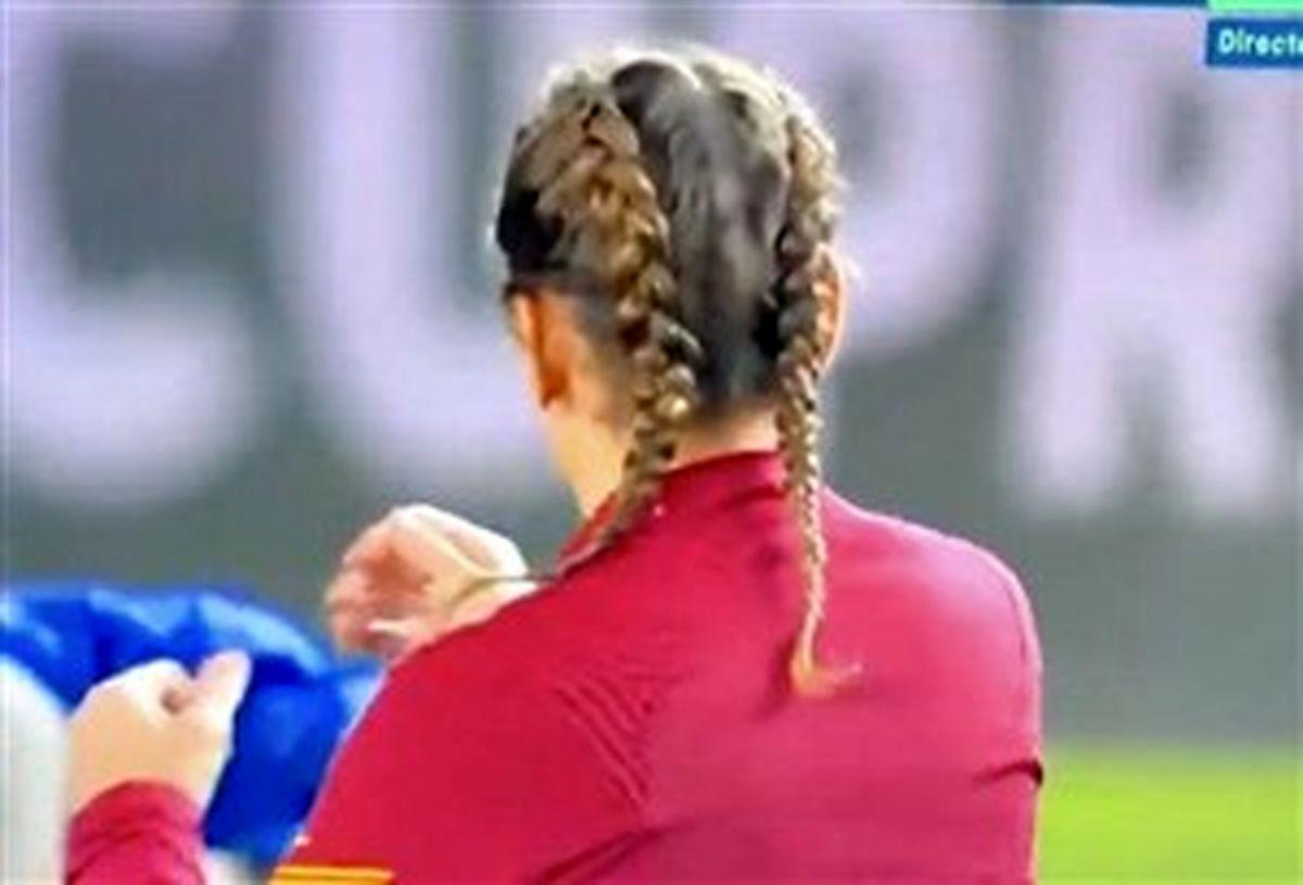 مدل جدید موهای مهاجم فرانسوی بارسلونا!(عکس)