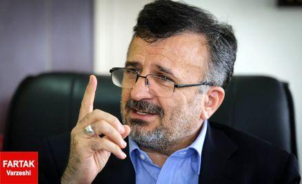 توضیحات داورزنی در مورد وضعیت مهدی تاج و بازنشستگی آن