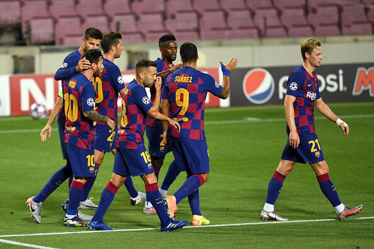 بارسلونا، تنها سنگر اسپانیا در لیگ قهرمانان