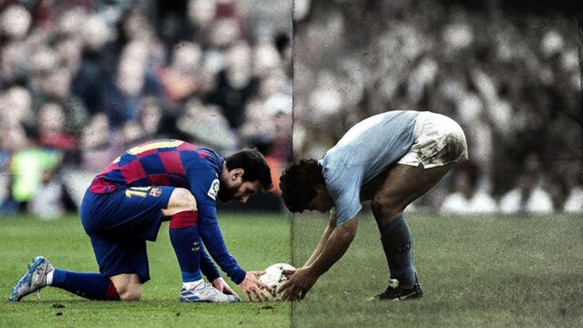 مارادونا شور و اشتیاق داشت اما مسی هیچ چیز ندارد!