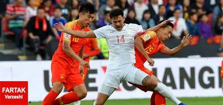 جام ملت های آسیا  چین دومین تیم صعود کننده