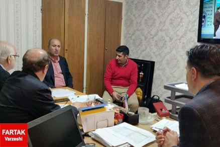 نشست گروه آنالیز داوری با حضور تاج برگزار شد