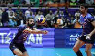 تیم ملی والیبال ایران در ماراتنی نفسگیر از سد فنلاند گذشت