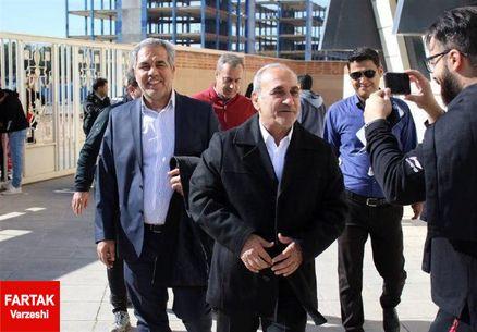 جلسه گرشاسبی با ایرج عرب در پرسپولیس