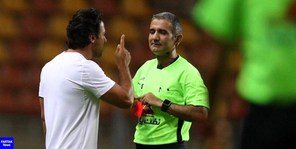 اعتراض رسمی باشگاه استقلال به قضاوت سید علی در بازی با فولاد