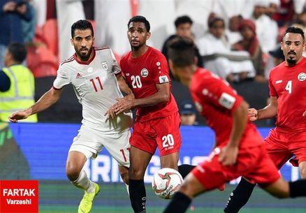 آمار درخشان ملی پوشان ایرانی مقابل ویتنام در پایان نیمه اول