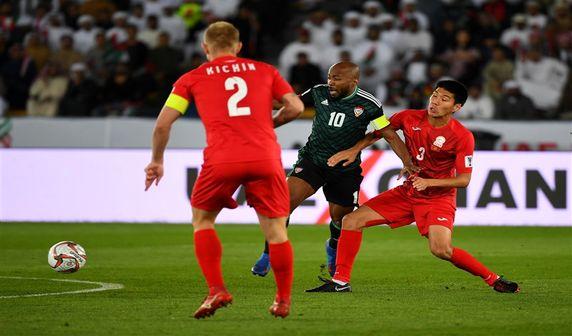 امارات 3- قرقیزستان 2؛برتری میزبان در وقت اضافه!