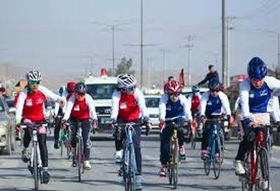 رقابت دوچرخهسواری زنان در افغانستان/فیلم