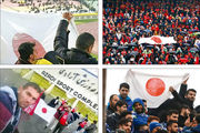 پرسپولیس و معجزه دشمنی؛ پرچم ژاپن من کو؟!