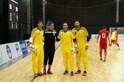 ناظم الشریعه از دروازهبانهای تیم ملی فوتسال رضایت کامل دارد