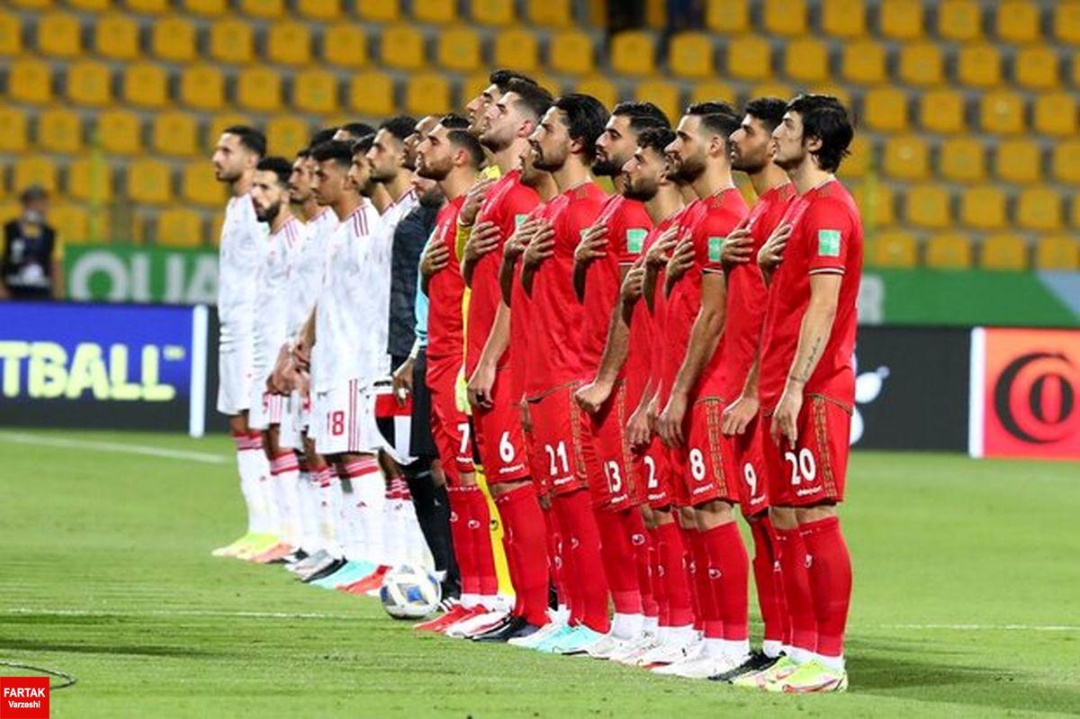 تغییر ترکیب تیم ملی فوتبال ایران برای دیدار با کره جنوبی