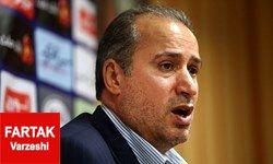 مهدی تاج: نکونام کار مهمی انجام داد ،اما تیم ملی امید الان در دست کرانچار است!