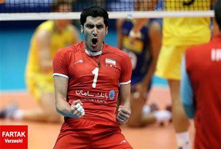 محمودی امتیازآورترین بازیکن ایران برابر ایتالیا شد
