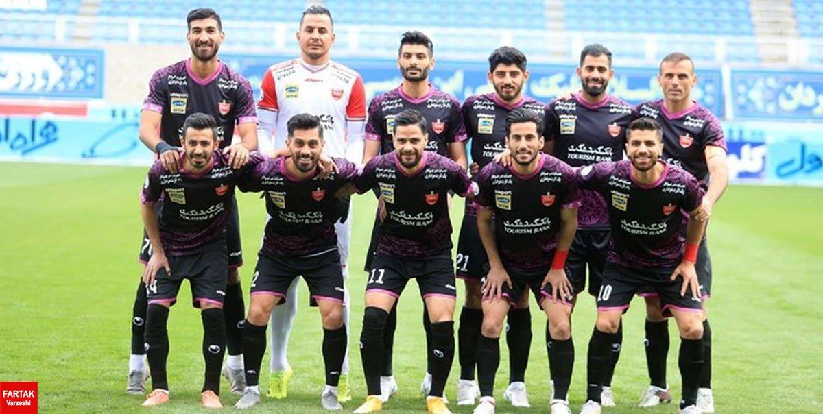 اعلام شماره پیراهن بازیکنان پرسپولیس در لیگ قهرمانان آسیا