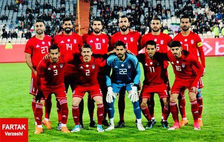 برتری محسوس ایران در آمار در بازی با ویتنام
