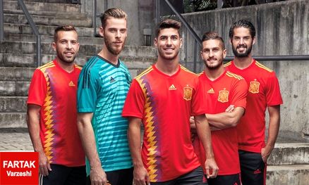 رونمایی از ترکیب اصلی دو تیم اسپانیا و ولز