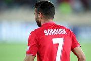 سروش رفیعی بازیکن تیم الخور توانست با یک گل زیبا به پیروزی تیمش کمک کند