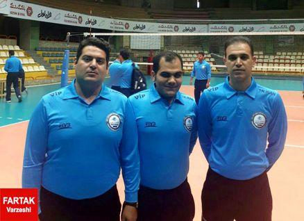 حضور سه داور کرمانشاهی در جلسه توجیهی داوران لیگ برتر والیبال