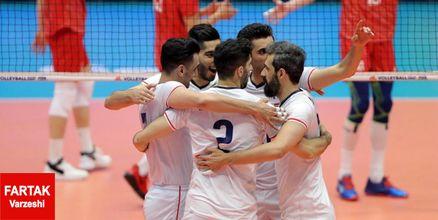 اعلام برنامه بازیهای تیم ملی والیبال ایران در المپیک توکیو