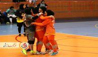 برتری ۲ بر صفر تیم سایپا مقابل نامینو اصفهان